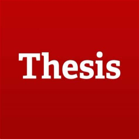 Presenting a phd thesis